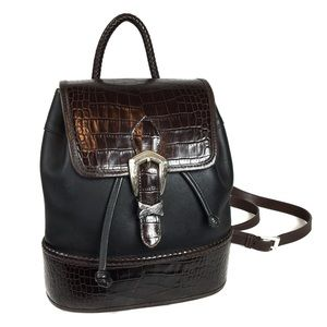 Brighton Collection Leather Mini Backpack A407884